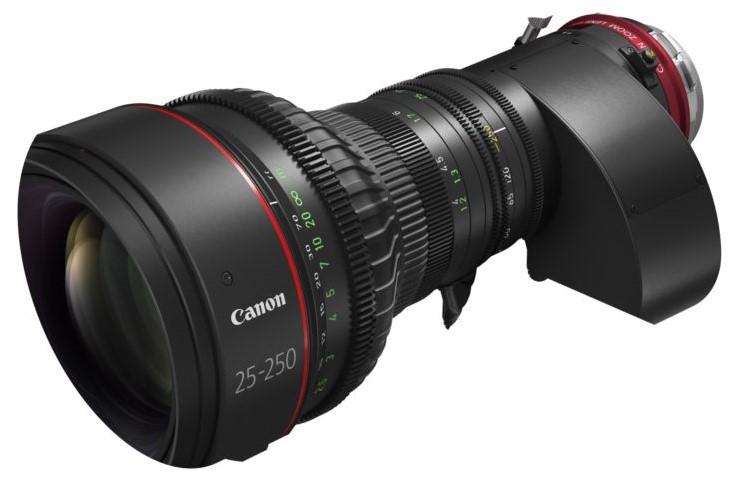 Hybridný objektív CN10X25 IAS S