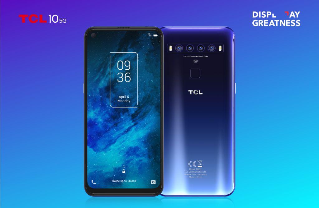 smartfón TCL 10 5G
