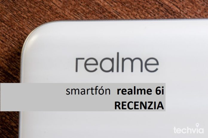 smartfón realme 6i
