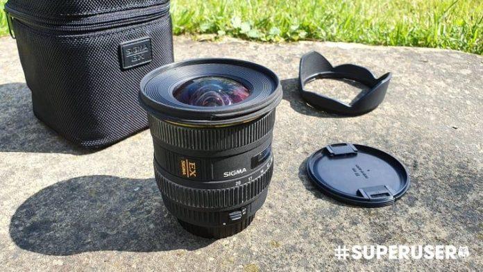 Sigma 10-20mm f4-5,6 EX DC HDM pre Canon