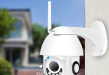 BESDER Outdoor WiFi Wireless IP Camera BES-25PW-XMP200