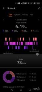 monitorovanie spánku