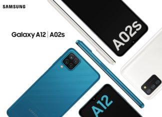 SAMSUNG Galaxy A12 & A02s
