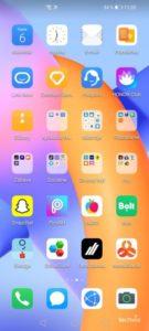 Screenshot HONOR 10X Lite