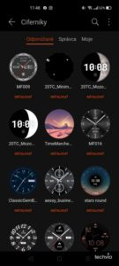 Screenshot HONOR Watch GS Pro