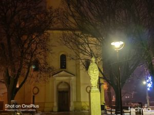 nočná fotografia OnePlus 8T
