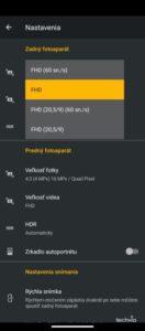 Screenshot moto g9 POWER