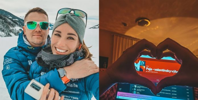 Paulína Fialková & Huawei & Valentín
