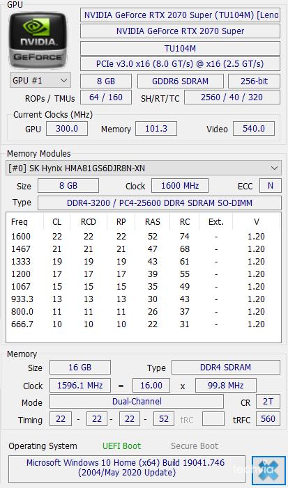 nvidia gpu Lenovo Legion 7 15IMHg05