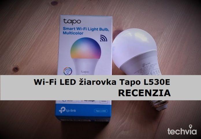 Recenzia – inteligentná Wi-Fi RGB žiarovka Tapo L530E s dielne Tp-Link