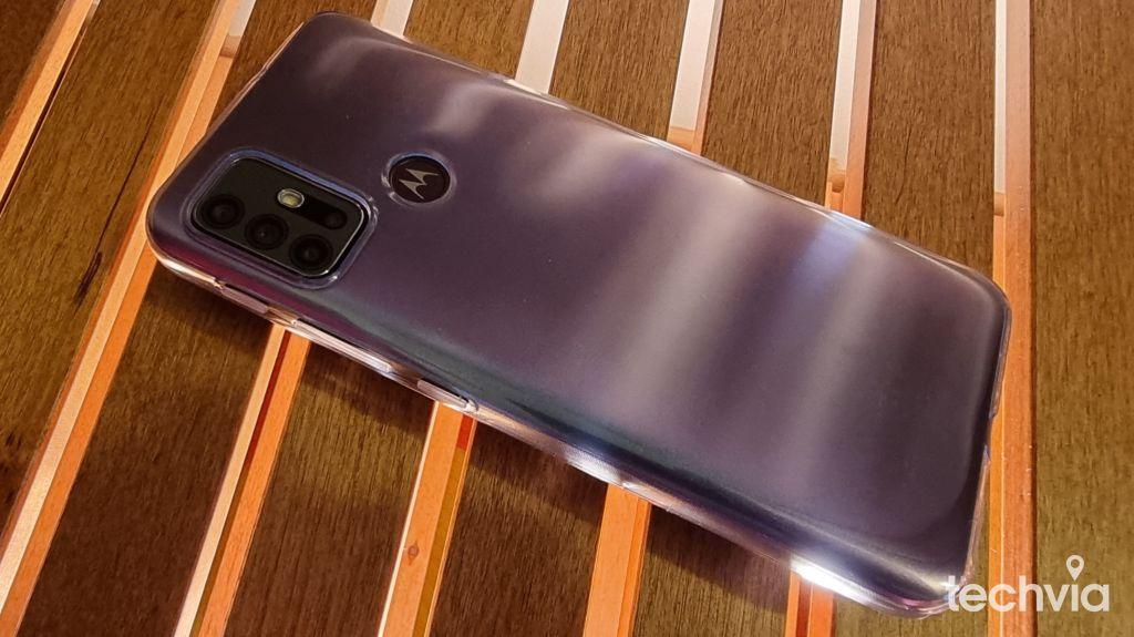 snímač odtlačkov prstov smartfón moto g30