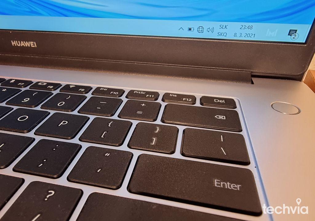 snímač odtlačkov prstov HUAWEI MateBook D 15 2020 AMD