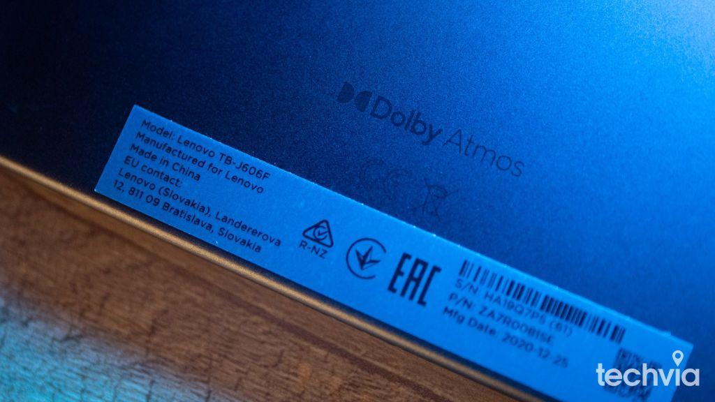 zvuk tablet Lenovo Tab P11