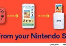 Nintendo aplikácia pre tlačiareň instax mini Link