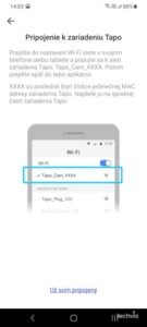 aplikácia TAPO