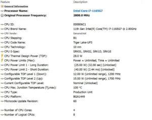 procesor Asus ZenBook Duo UX482E