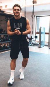 Advanced inštruktor Les Mills a fitness trenér David Pártl