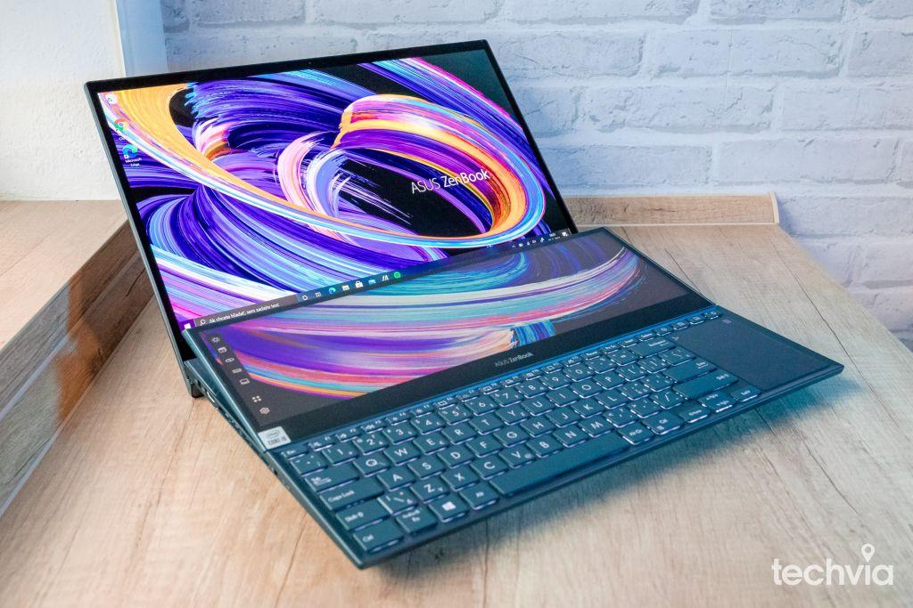 displej ASUS ZenBook Pro Duo 15 OLED