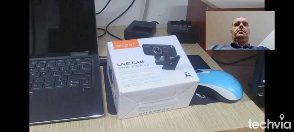 Screenshot Webkamera CREATIVE LIVE! CAM SYNC 1080P V2