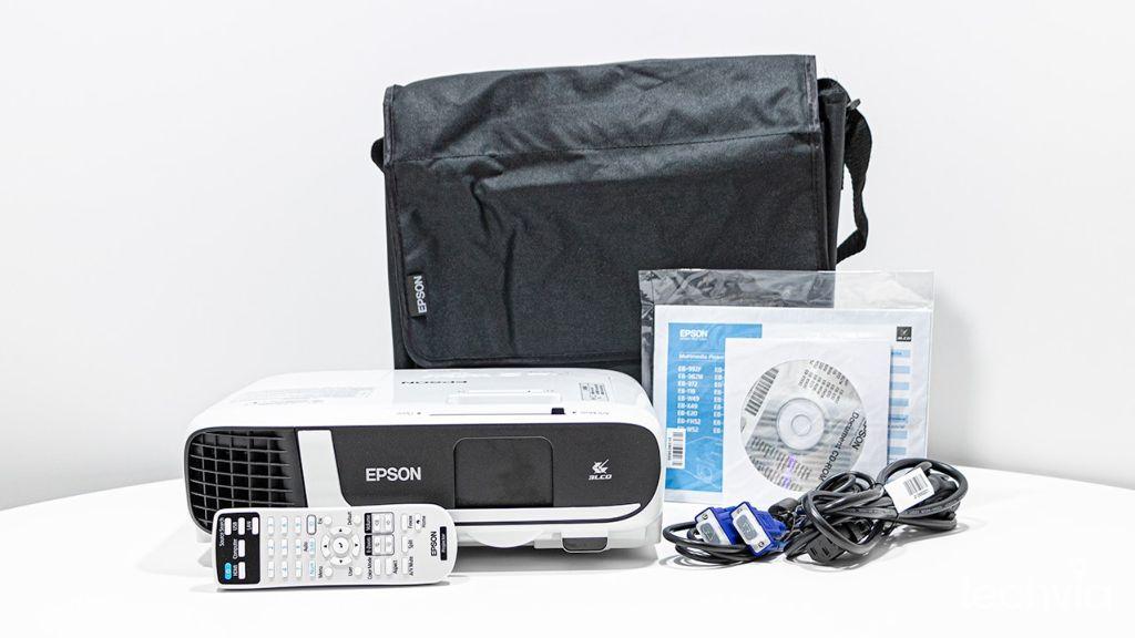 obsah balenia projektor EPSON EB FH52