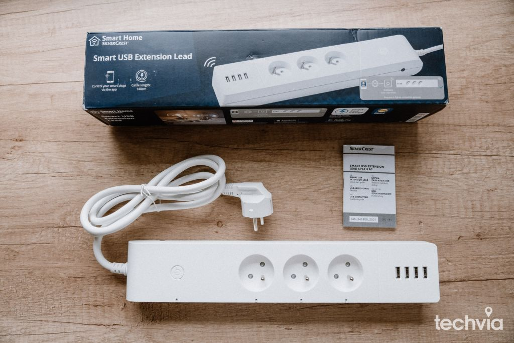 Lidl Smart Home LivarnoLux Smart USB predlžovací kábel