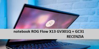 ROG Flow X13 GV301Q + GC31