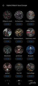 ciferník hodiniek HUAWEI Watch 3 Pro