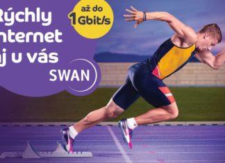 SWAN Gigabitovy opticky internet